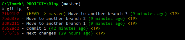 git commit to move to another branch