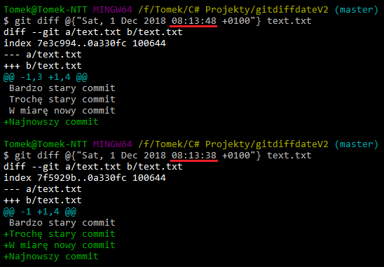git diff date example